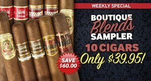 Weekly Special: New Money-Saving Cigar Offer Every Wednesday!