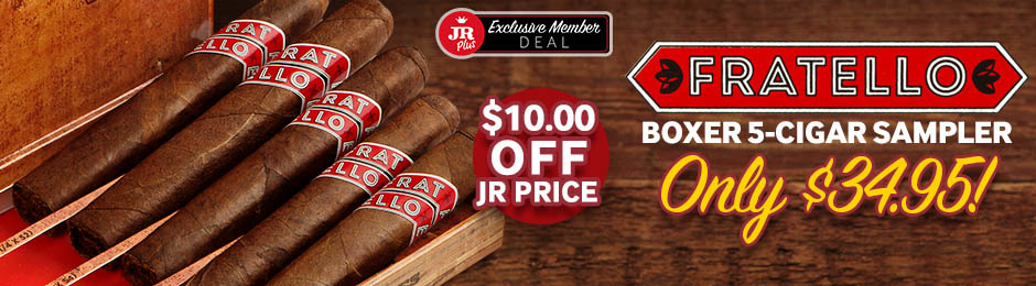 JR Plus Members Get $10.00 Off The Fratello Boxer Sampler + Free Shipping!