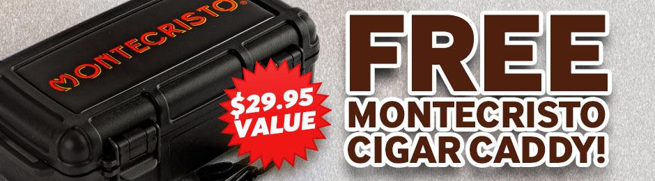Free Montecristo Cigar Caddy With Montecristo No. 34 Cigars!