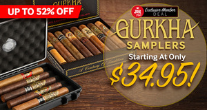 JR Plus Members Save Up To 52% On Gurkha Samplers + Free Shipping!