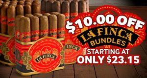 Today Only, Get $10.00 Off La Finca Bundles!