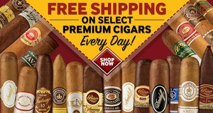 JR Cigar Offers Free Shipping On Premium Cigars Every Day!