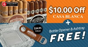 JR Plus Members Save $10.00 + Get A Bottle Opener & Ashtray Free!