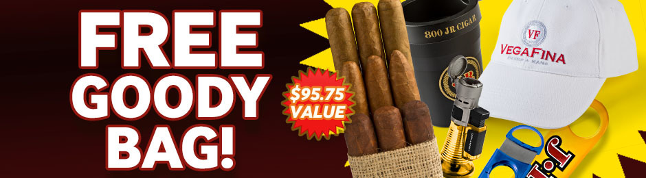 Free Goody Bag With Select Boxes & Bundles Of Handmade Cigars!