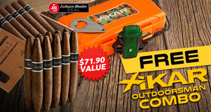 JR Plus Members Get A Free Xikar Outdoorsman Kit, 10 Free Cigars, & Free Shipping!