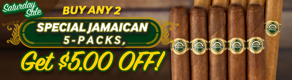 Buy 2 Special Jamaican 5-Packs & You'll Get $5.00 Off!