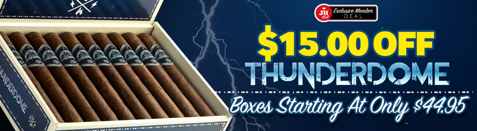 JR Plus Members Get $15.00 Off All Boxes Of Thunderdome + Free Shipping!