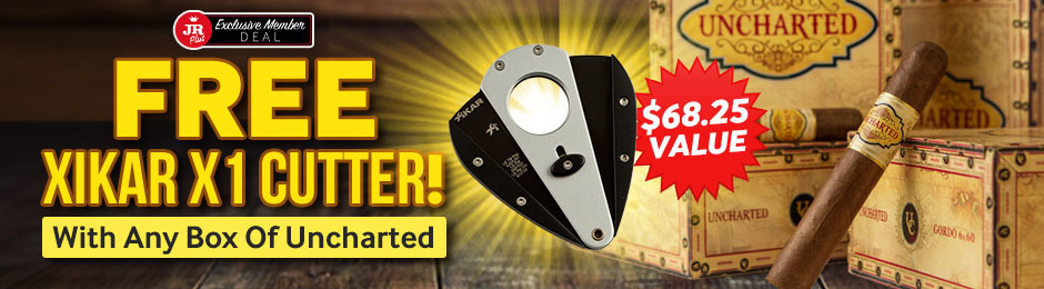 JR Plus Members Get A Free Xikar Cutter With Uncharted + Free Shipping!
