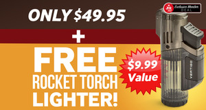 JR Plus Members Pay Only $49.95 For Farm To Factory Boxes & Get A Free Rocket Torch Lighter + Free Shipping!