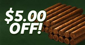 $5.00 Off Select Nicaraguan Factory Cigars!