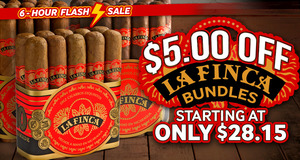 6-Hour Brown Bag Cigar Special!
