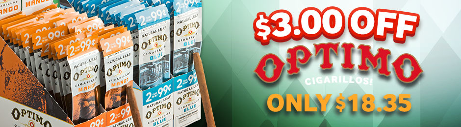 This Week, Get $3.00 Off Optimo Cigarillos!