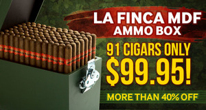 Today Only, Get A La Finca MDF Ammo Box For Only $99.95 & Save More Than 40%!