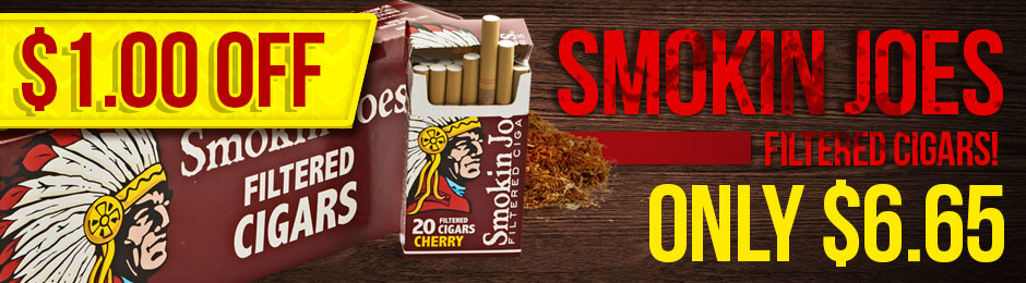 This Week Only, Get $1.00 Off Smokin Joes!