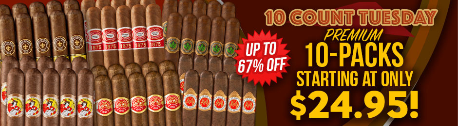 Today Only, Get A Premium 10-Pack For As Low As $24.95!