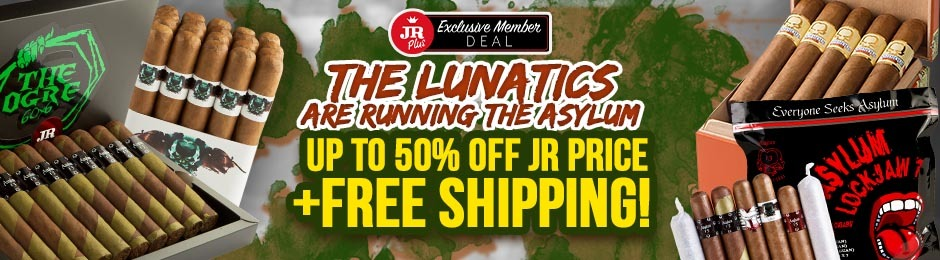 JR Plus Members Get Up To 50% Off Asylum + Free Shipping!