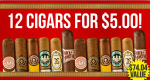 12-Pack For $5.00 More With Select Altadis Boxes!