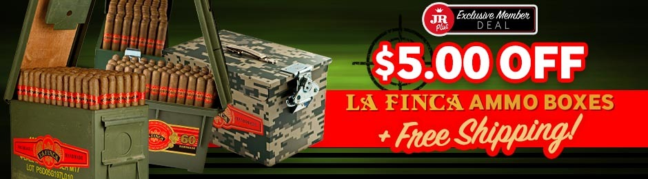 JR Plus Members Get $5.00 Off La Finca Ammo Boxes + Free Shipping!