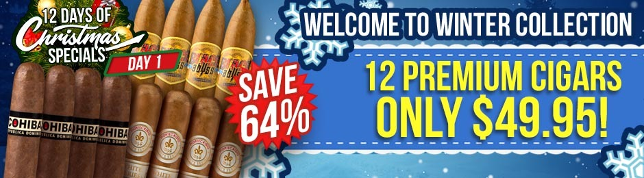 12 Days of Christmas Specials Day 1: Get Welcome To Winter With 12 Premiums For Only $49.95!