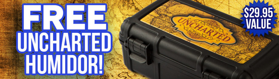 Free Uncharted Travel Humidor With Select AJ Fernandez Boxes!