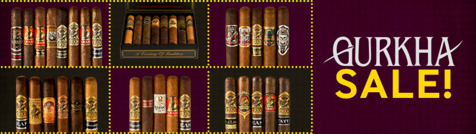 Save Up To $20.00 Off Select Gurkha Samplers & Knives!