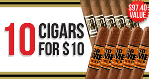 10 Romeos For $10.00 With Select Romeo y Julieta Boxes!
