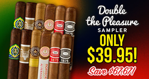 Buy The 12-Cigar Double The Pleasure Sampler For Only $39.95!