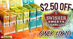 This Week, Get $2.50 Off Swisher Sweets Cigarillos!