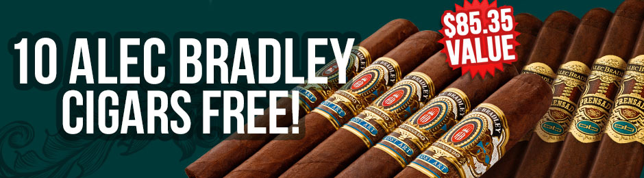 10 Alec Bradleys Free With Select Boxes Of Alec Bradley!