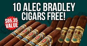 10 Alec Bradleys Free With Select Boxes Of Alec Bradley!