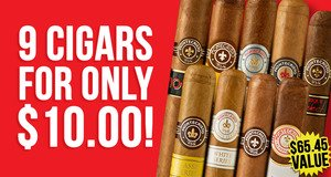 9 Cigars For $10.00