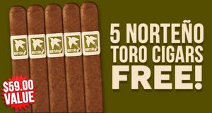 5 Norteno Toros Free With Select Herrera Esteli Boxes!