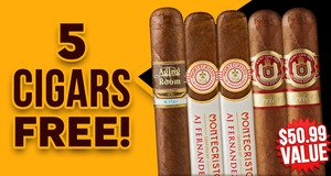 5-Pack Free With Select Aging Room Boxes