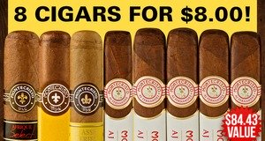 8 Cigars For $8.00