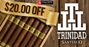 JR Plus Members Get $20.00 Off Trinidad Santiago!