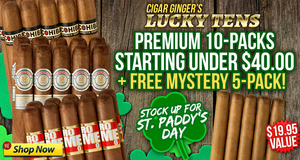 Cigar Ginger's Lucky Tens