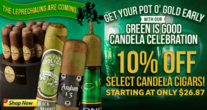 10% Off Green Cigars