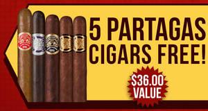 5 Free Cigars