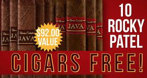 10 Free Cigars