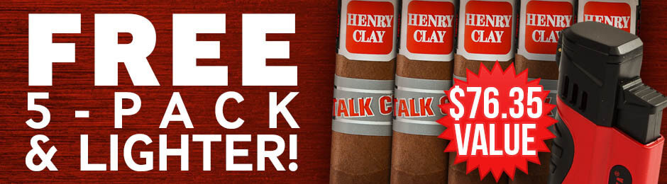 Free 5-Pack & Lighter With Select Romeo Boxes!