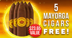 5 Mayorga Cigars Free