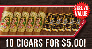 10 Cigars For $5.00