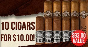 10 Cigars For $10.00