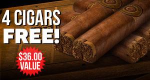 4 Cigars Free