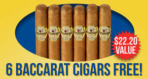 6 Baccarats Free