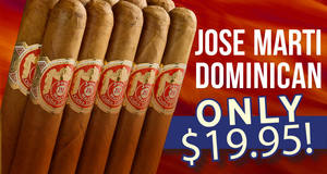 Select Jose Marti Dominican Boxes Only $19.95!
