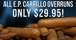 E.P. Carrillo Overruns Only $29.95