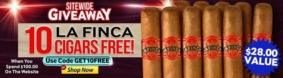 10 Free La Fincas When You Spend $100.00 & Use Code GET10FREE!