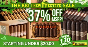 Today Only, Get 37% Off Drew Estate Brands!