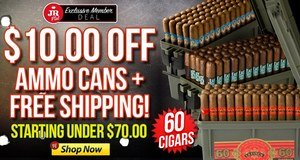 JR Plus Members Get $10.00 Off Ammo Cans + Free Shipping!
